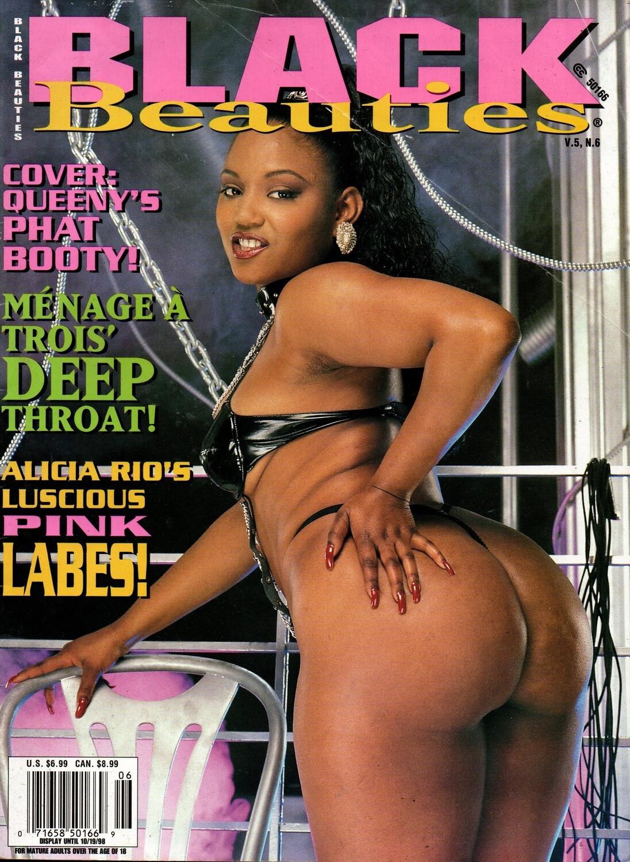Black Beauties Magazine V5N6 1998 Alicia Rio