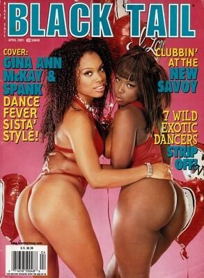 Black Tail Magazine April 2001 Solveig