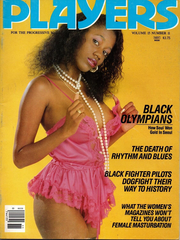 Players Magazine V15N11 April 1989 Beautiful Ebony Women