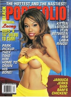 Lacey Duvall Black Portfoilio Magazine October 2001