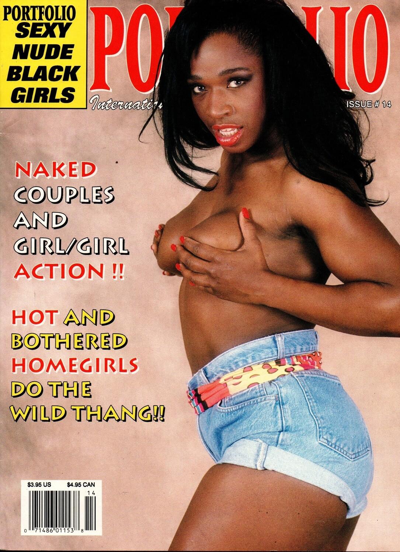Portfolio International Adult Magazine 1992 Porn star Mauvais Denoir