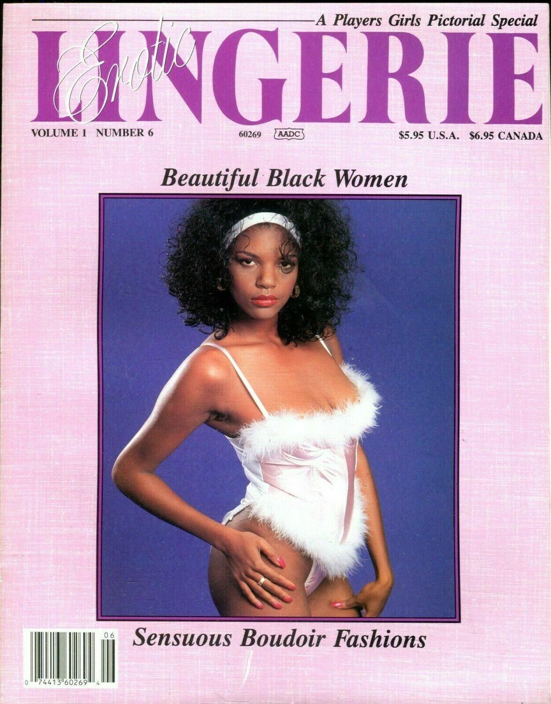 Players Girls Erotic Lingerie Beautiful Black Women vol.1 #6 1992