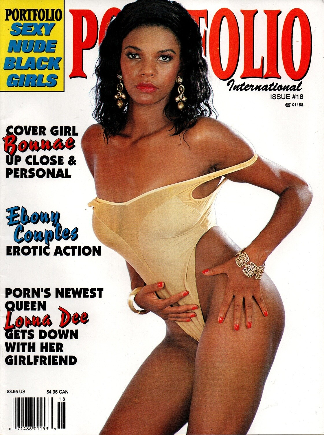 Portfolio International Adult Magazine Issue 18 1992