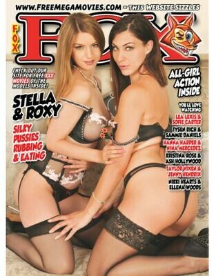 Fox adult Magazine May 2020 Stella & Roxy