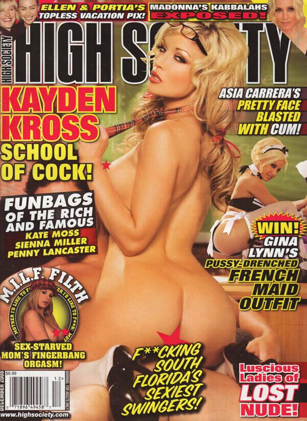 HIGH SOCIETY Magazine December 2008