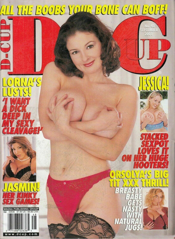 D-Cup Adult Magazine Jamine St. Claire Sept 2001
