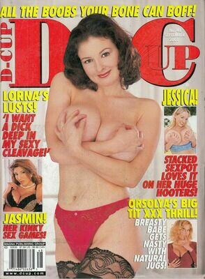 D-Cup Adult Magazine Jamine St. Claire Sept 2001