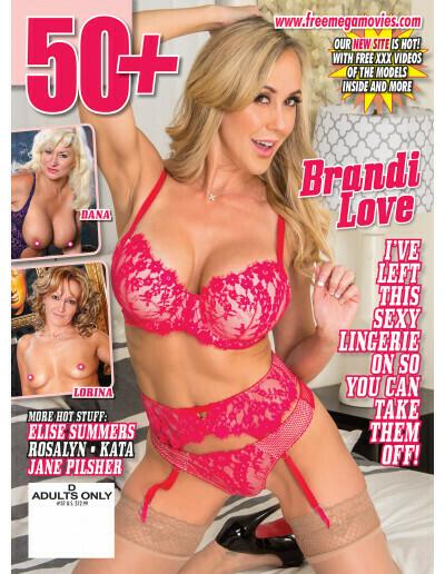50+ Milf Magazine 2019 Brandi Love #37