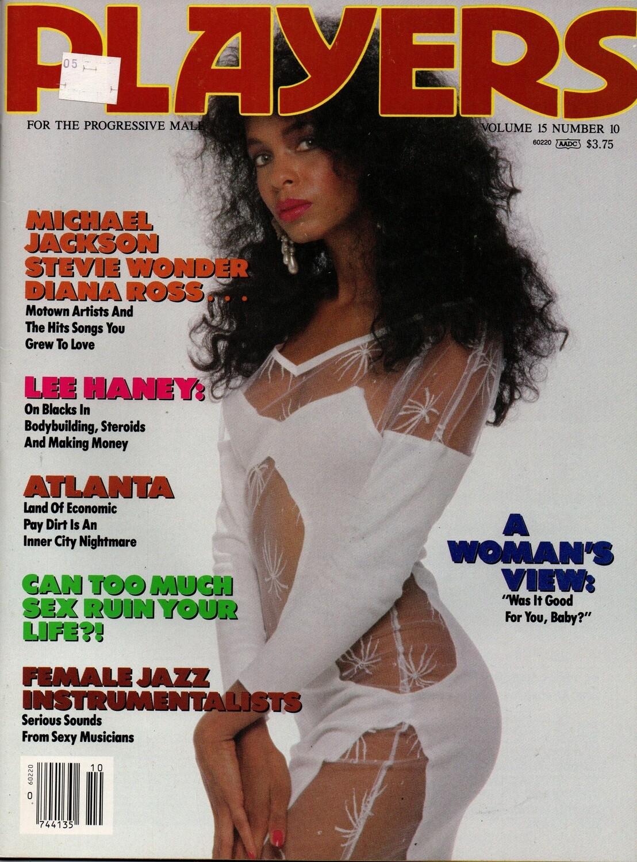Players Magazine Covergirl D'Andrea/Michael Jackson vol.15 1989