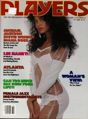 Players Magazine Covergirl D'Andrea/Michael Jackson vol.15 1989