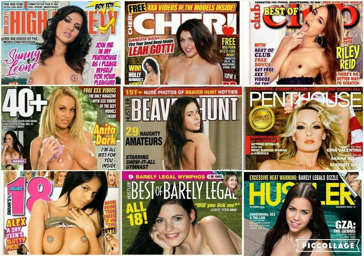 Adult Magazine 4 pack