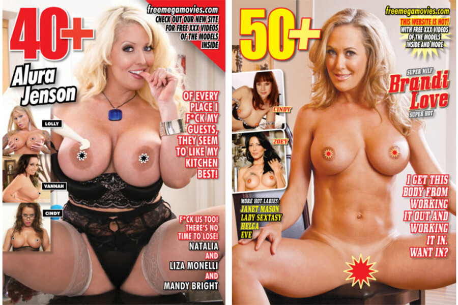 40+/50+ MILF Magazine 2 pack Recent Issues