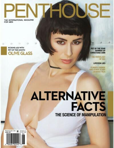Penthouse Magazine June 2017