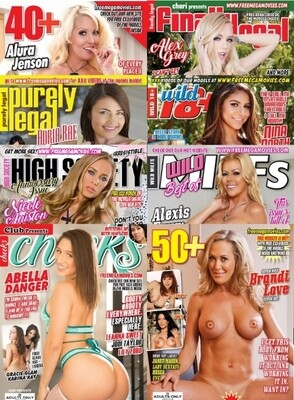 XXX Adult Magazines September 2020 Bundle Pack
