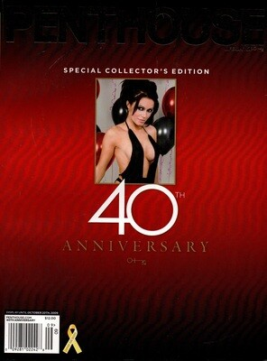 Penthouse Magazine October 2009 40th Anniversary Special Collectors Issue