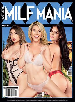 Milf Mania Hustler XXX Current Issue 2020 #34