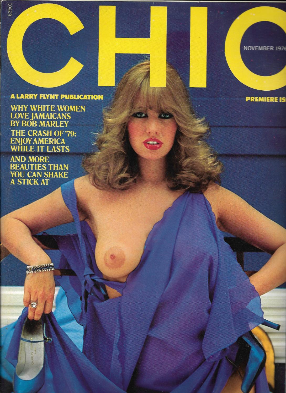 CHIC magazine November 1976 PREMIERE ISSUE Vol 1 No #1