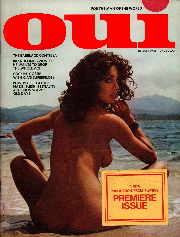 OUI Magazine #1 RARE Mens Magazine Oct 1972 Premiere Issue