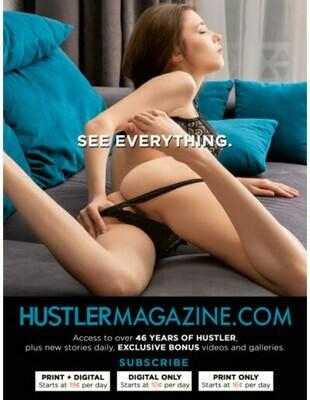 Grab Bag XXX Magazine - Hustler October 2020
