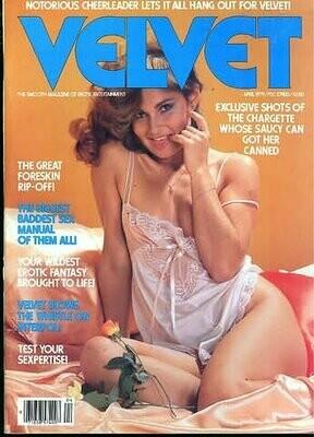 Vintage Velvet Magazine Lisa De leeuw April 1979