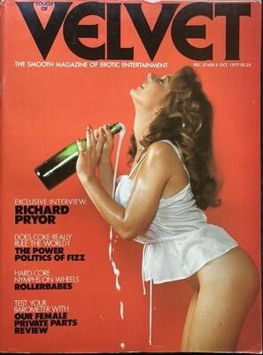 VELVET ADULT MAGAZINE OCTOBER 1977 VOLUME 1 NUMBER 2