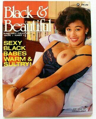 BLACK & BEAUTIFUL v1 n4 1987 PARLIAMENT - KELI STEWART