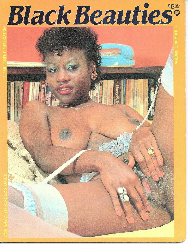 Black Beauties Magazine V1N1 1988 Parliament Pub
