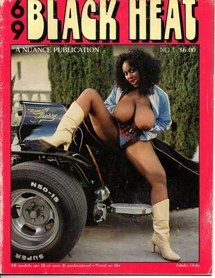 69 BLACK HEAT #1 VINTAGE SOFTCORE MAGAZINE 1981