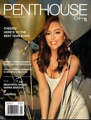 Penthouse magazine January /February  2021 - Damaged