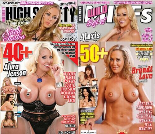 XXX Adult Magazines September 2020 Bundle Pack