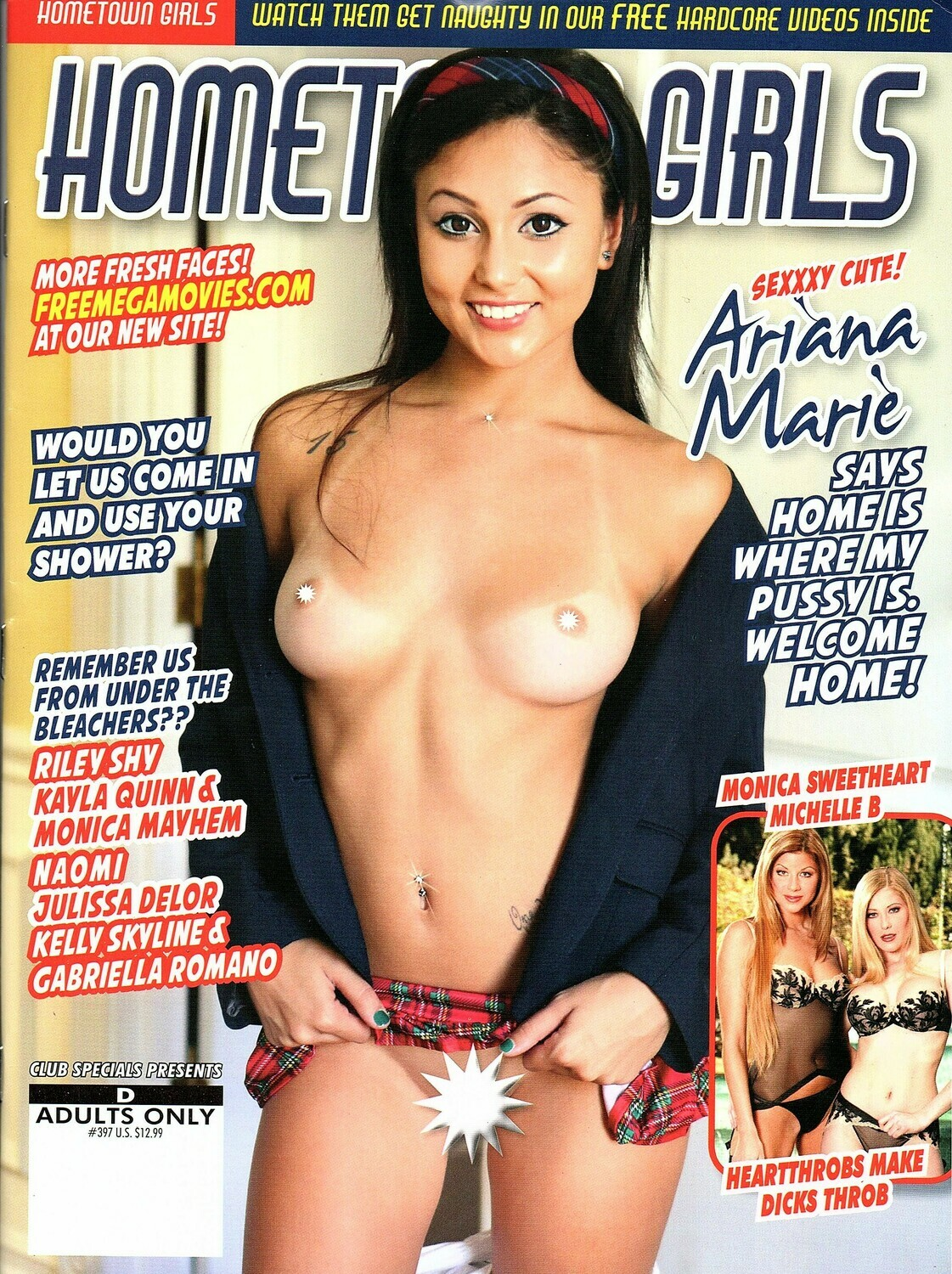 Hometown Girls Magazine Jan/Feb 2021 Ariana Marie