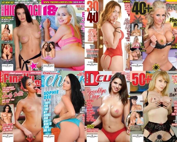 XXX Adult Magazines Feb/Mar 2021 Bundle Pack