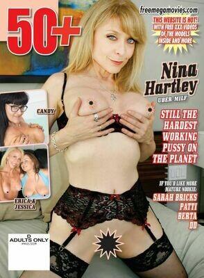 50+ Magazine Feb/Mar Nina Hartley 2021