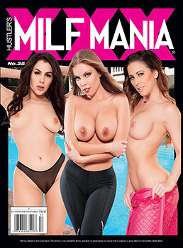Hustler Milf Mania XXX Magazine Current Issue 2021