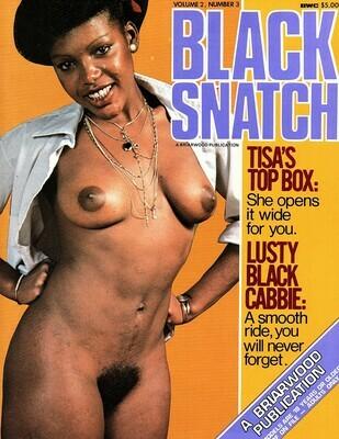Vintage Black Snatch V2N2 June 1979