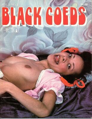 Black Coeds V.2 #3 Nuance VINTAGE MAGAZINE 1982