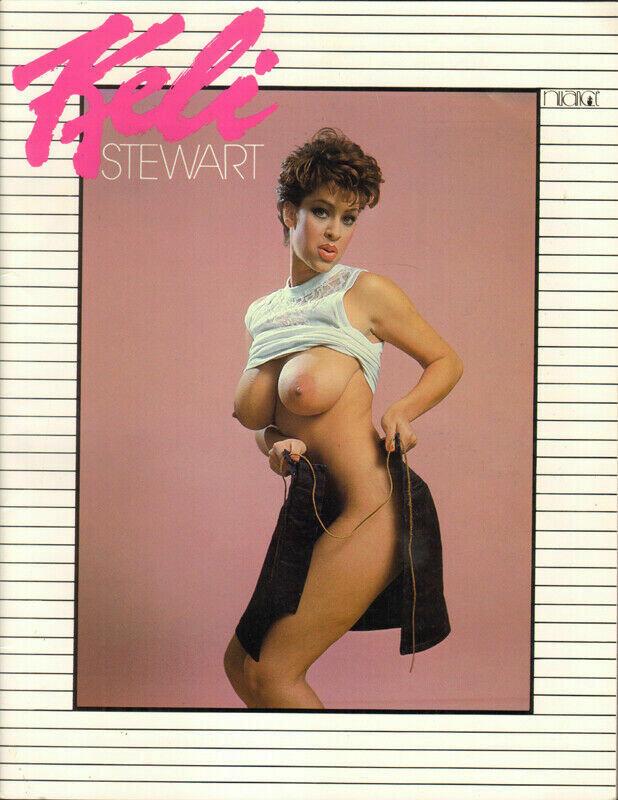 KELI STEWART Magazine 1984 Solo magazine