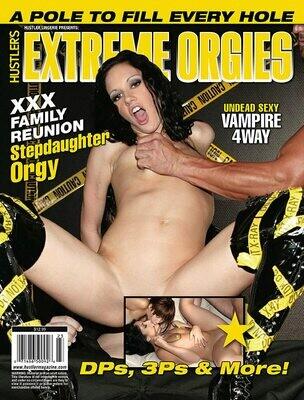 Hustler's Extreme Orgies #12 Magazine