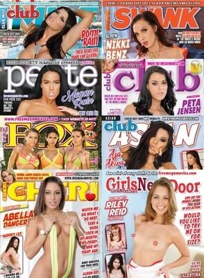 Adult Magazines May/June 2021 Bundle Pack