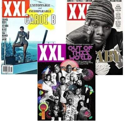 XXL Magazine Bundle Single Issue 3 pack
