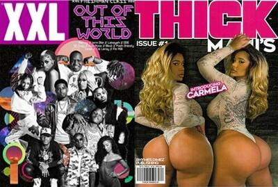 XXL/Thick Mami's Magazine Bundle Single Issue 2 pack