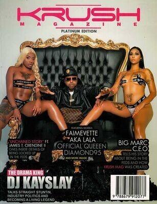 Krush Magazine Issue 1 Year 2021- inmate Magazines