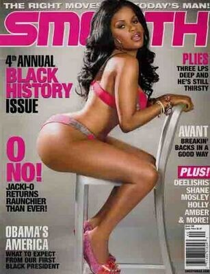 Smooth Magazine #40 featuring Jacki-O inmate Magazines