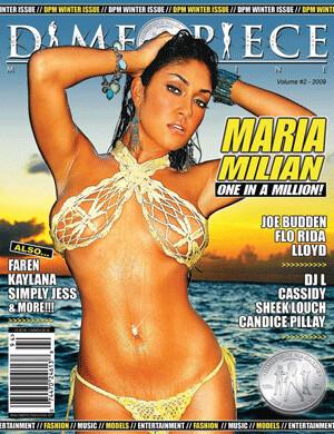 Dime Piece Magazine #2 Maria Milian- inmate Magazines