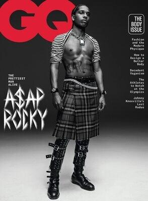 GQ Magazine (June/July, 2021) A$AP Rocky- inmate Magazines