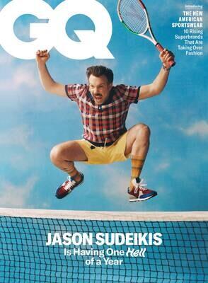 GQ Magazine August 2021 Jason Sudeikis - inmate Magazines