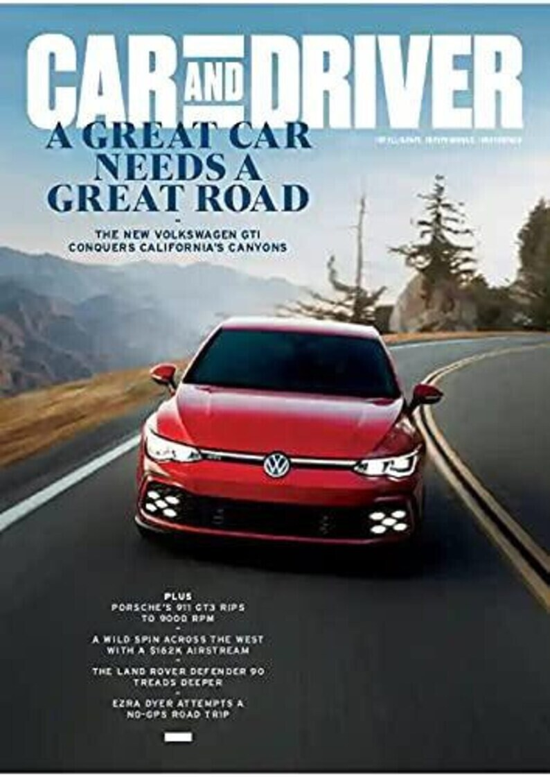 Car and Driver Magazine June 2021