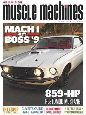 Hemmings Muscle Machines September 2021 Mustang Mach 1
