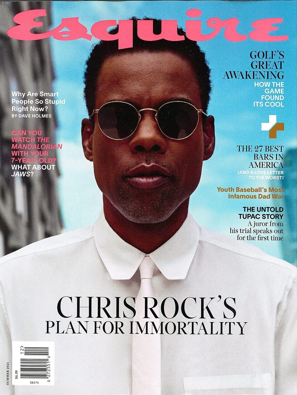 Esquire Magazine Summer 2021 - Chris Rock