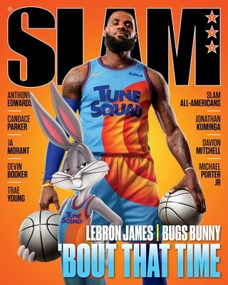 Slam Magazine Aug/Sept 2021 Lebron James Space Jam